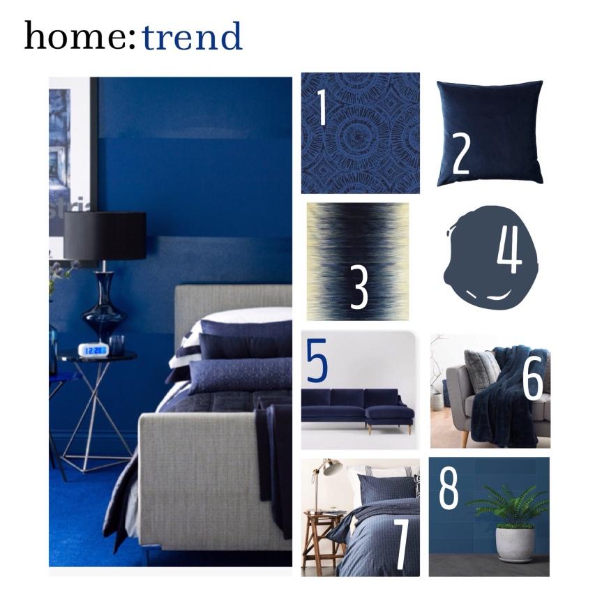 home: trend [ indigo]