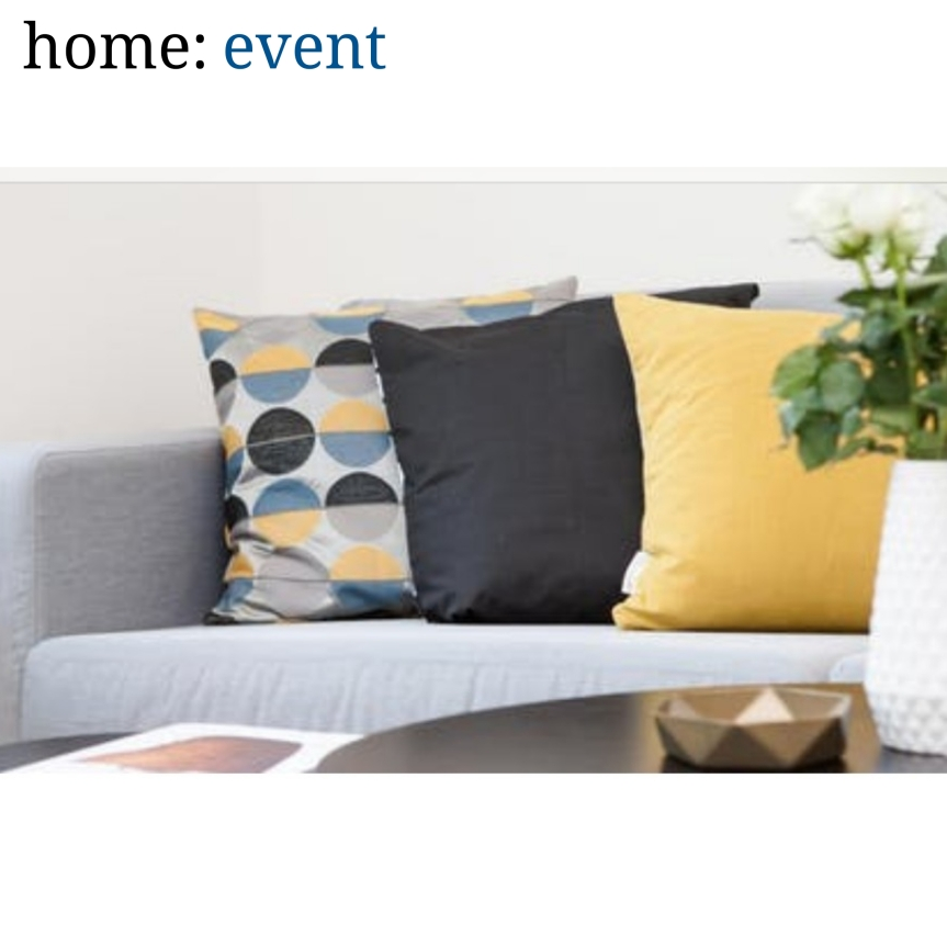 home: event [ Interior Design and Lifestyle workshop ]