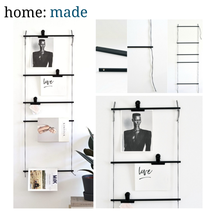 home: made [ hanging organiser ]