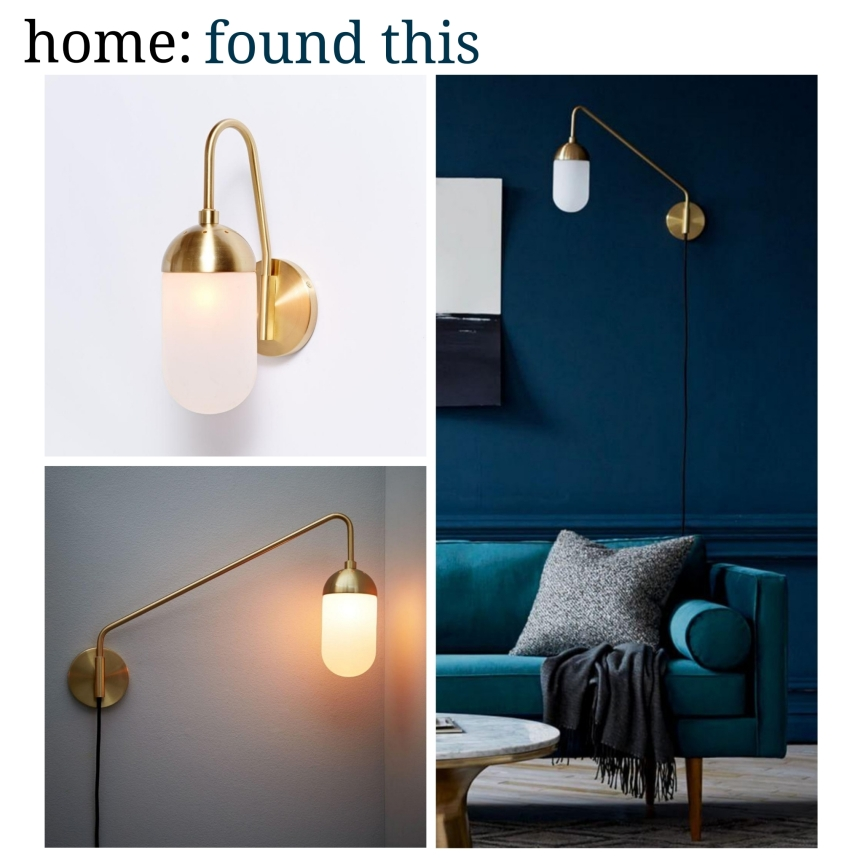home: found this [ wall light]
