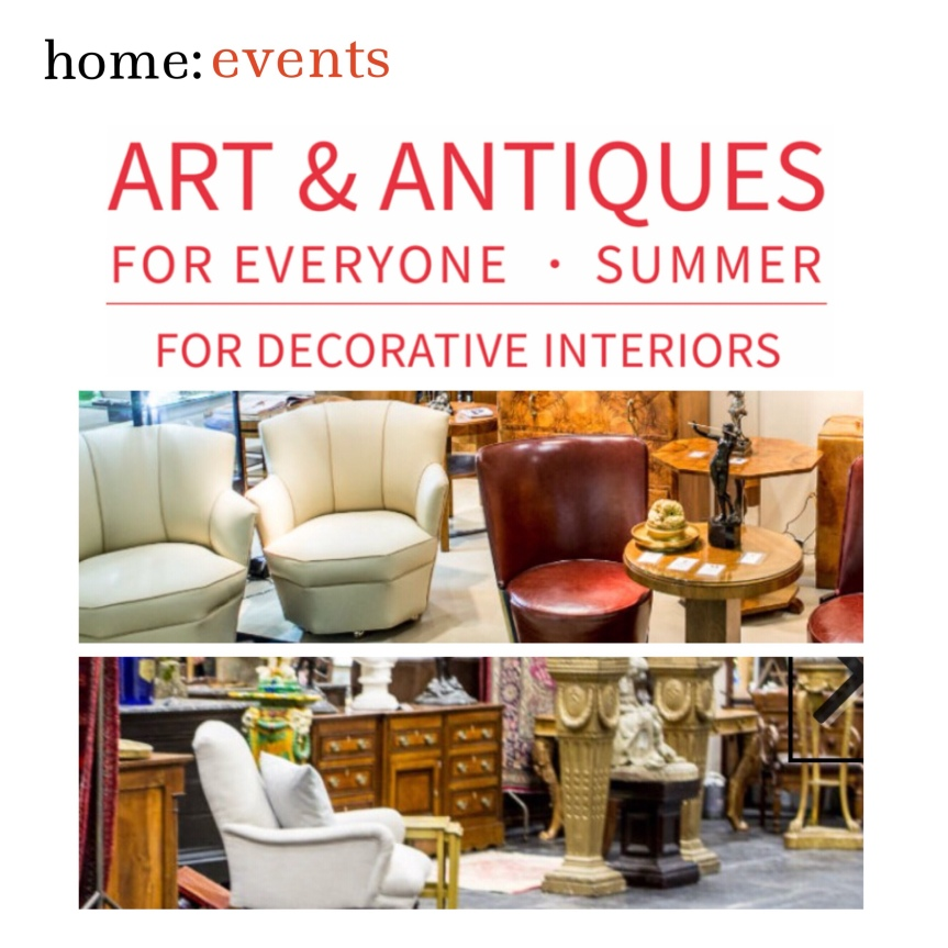 home: events [ art + antiques for everyone]
