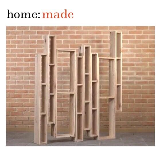 home: made [ book shelf]