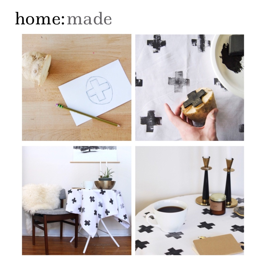 home: made [ table cloth ]