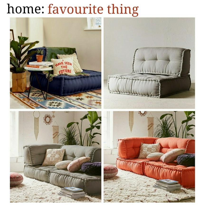 home: favourite thing [ sofa]