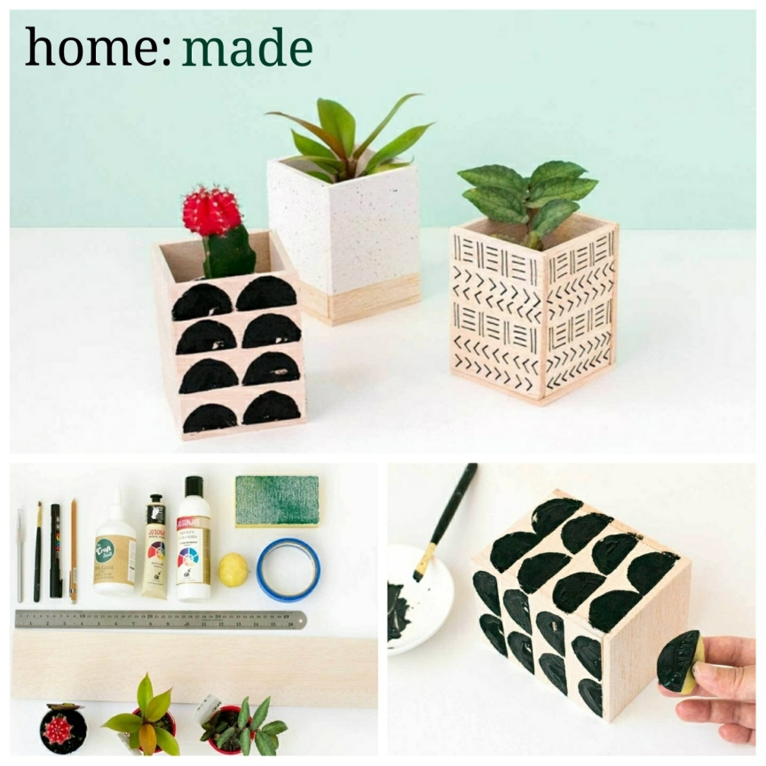 home: made [ plant pot ]