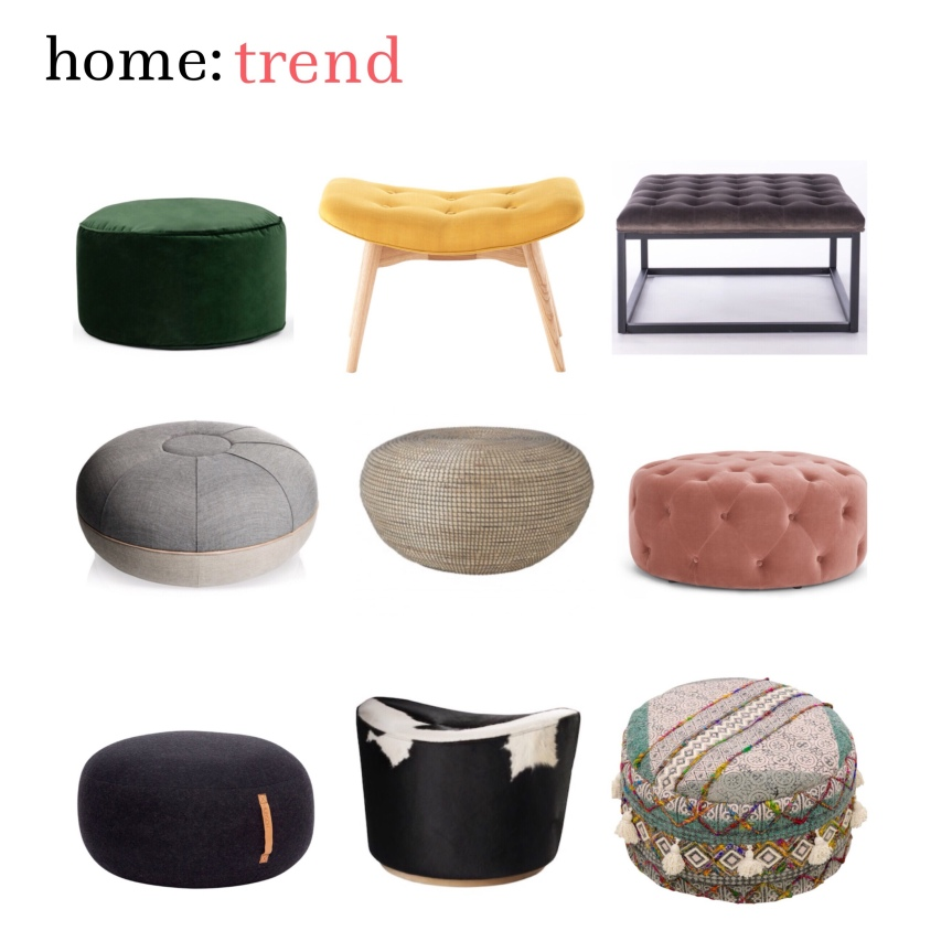 home: trend [ pouffe ]