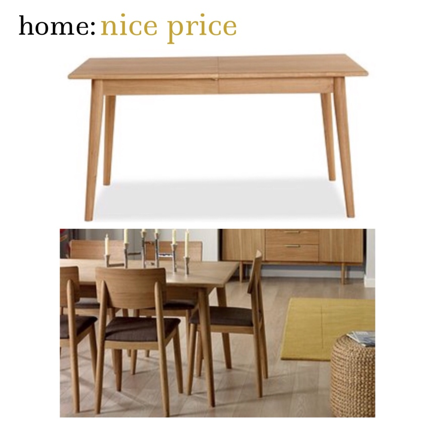 home: nice price [ dining table ]