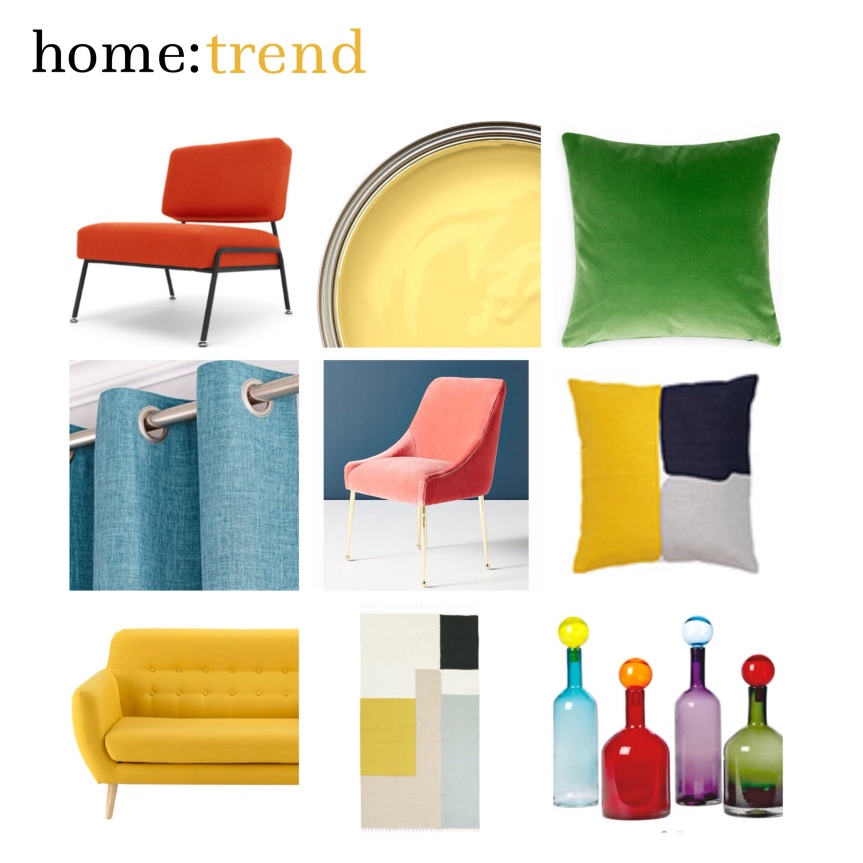 home: trend [ colour block]
