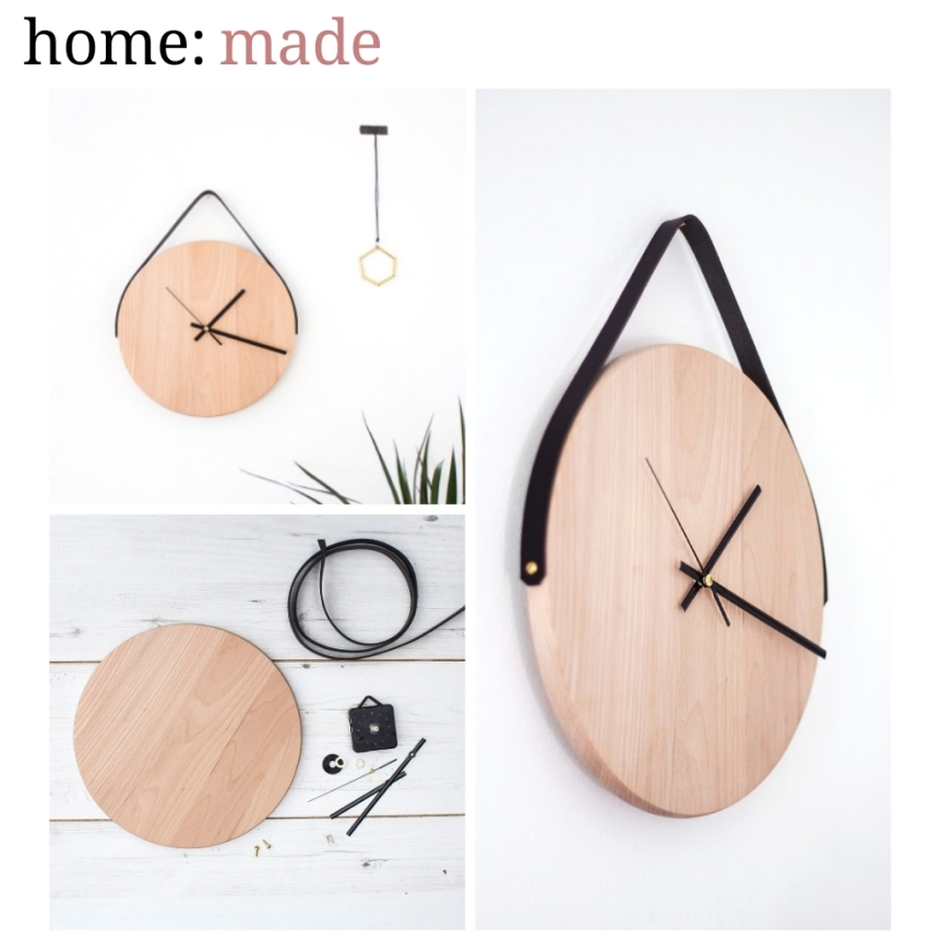 home: made [ wall clock ]