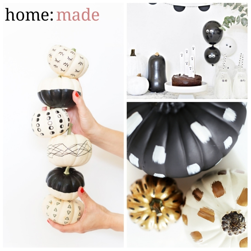 home: made [ Halloween decorations ]