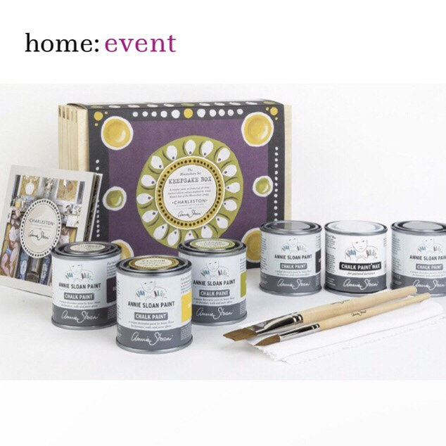 home: event [ Annie Sloan workshop ]