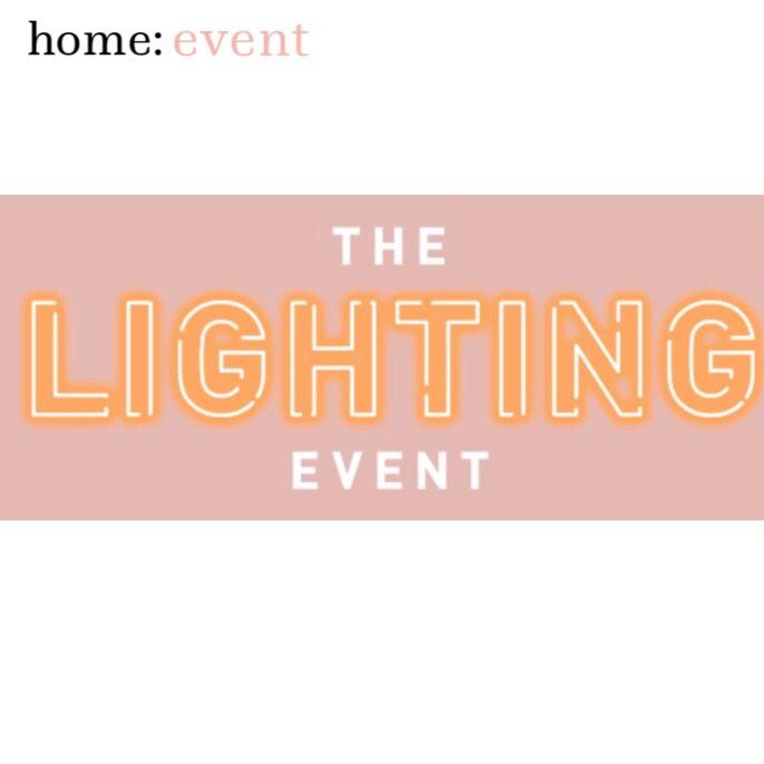 home: event [ lighting sale]