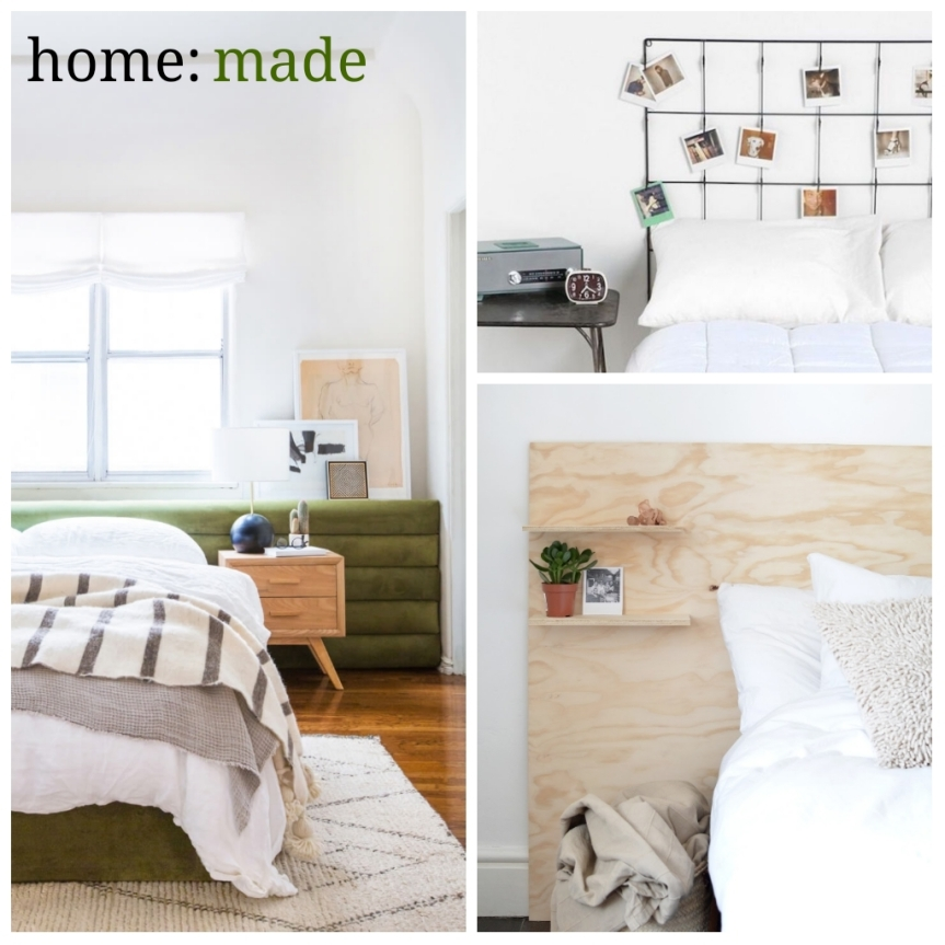 home: made [ headboard ]