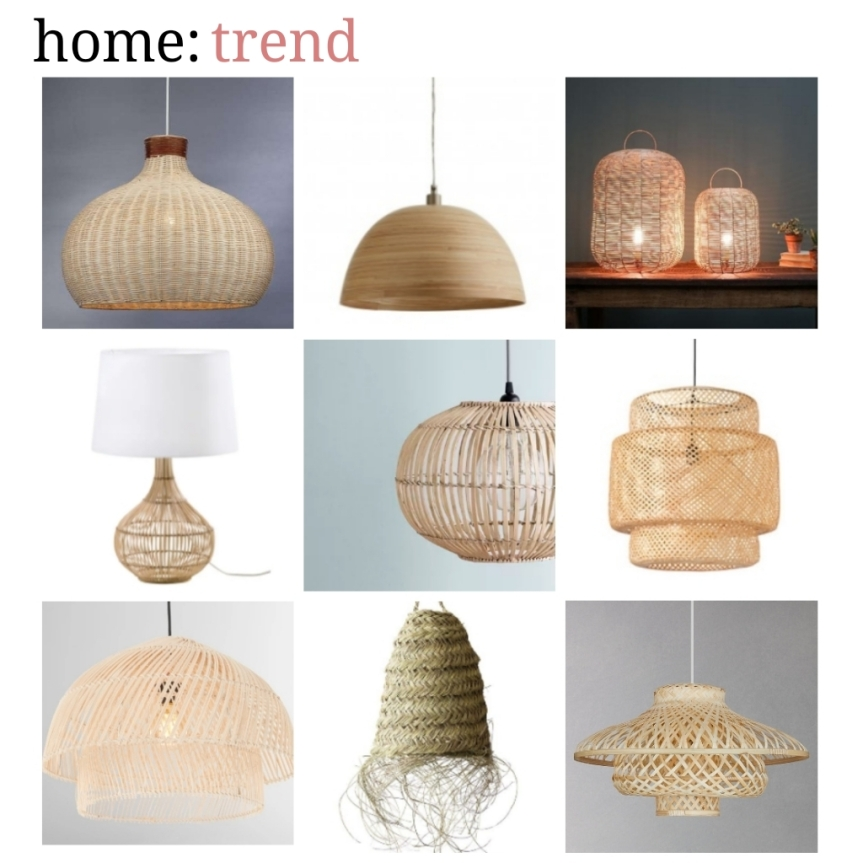 home: trend [ natural lampshades ]