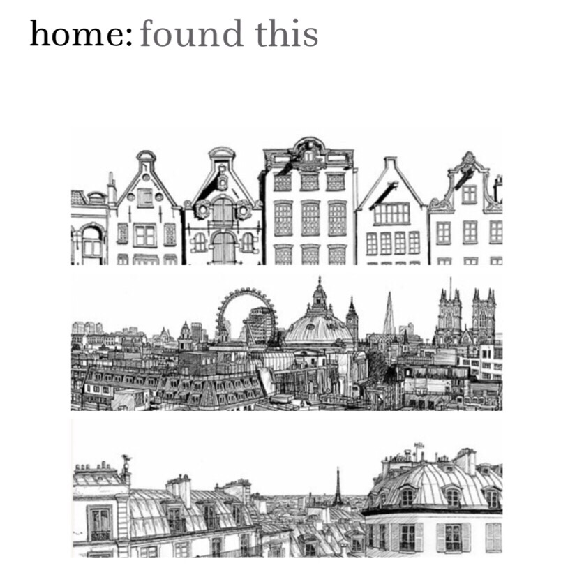 home: found this [ city prints]