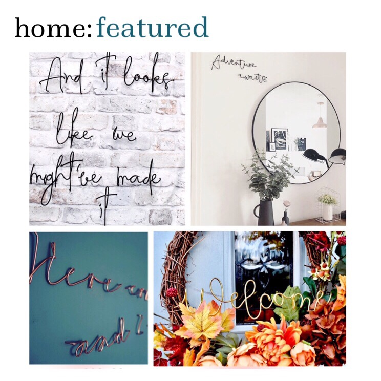 home: featured [ Copper Blush ]