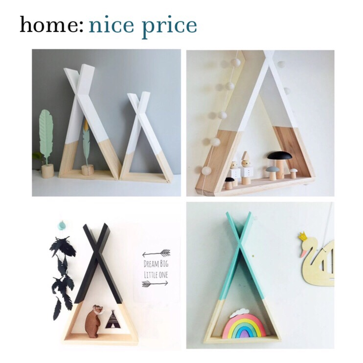 home: nice price [ triangle shelf ]