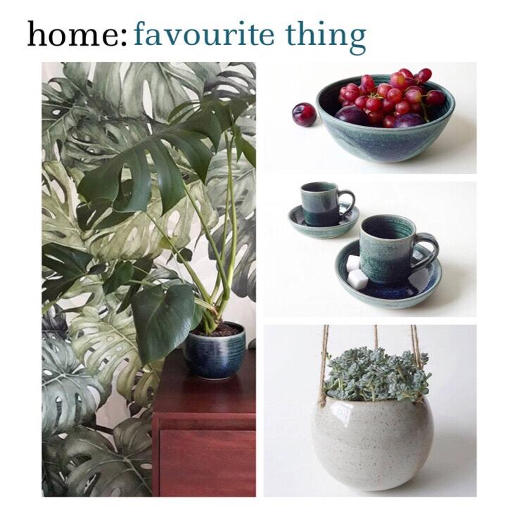 home: favourite thing [ ceramics]