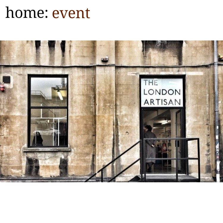 home: event [ The London Artisan ]