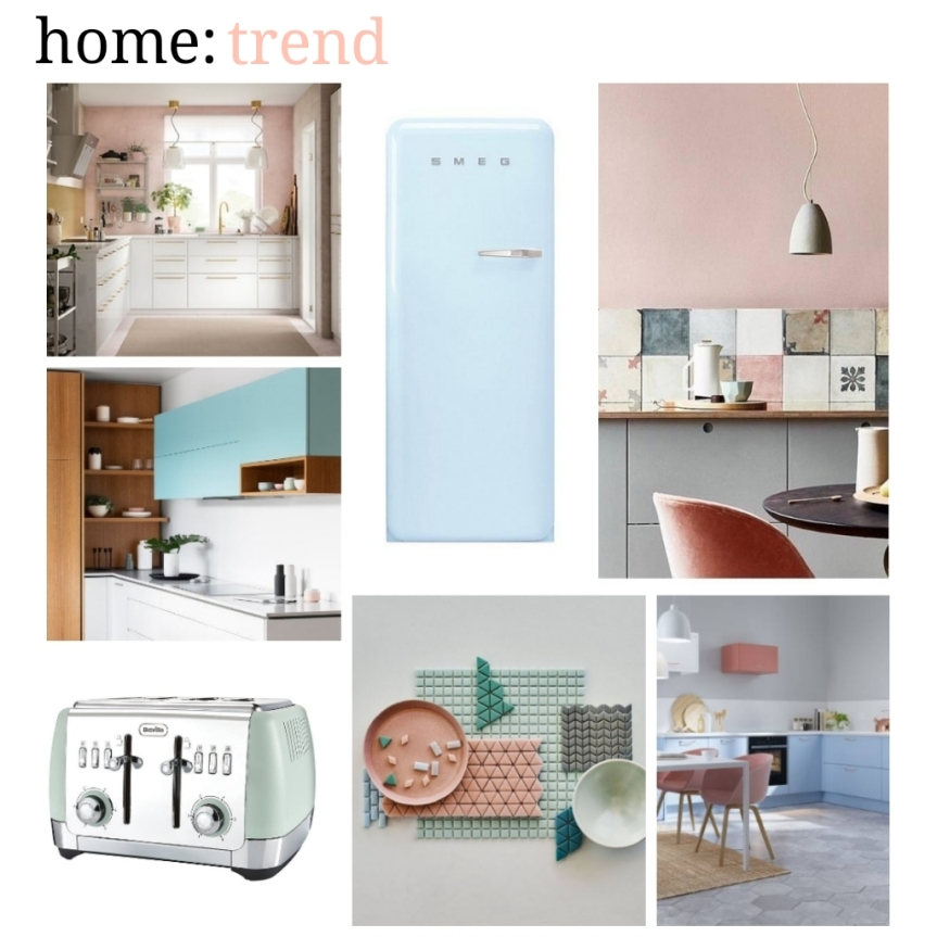 home: trend [ pastel kitchen ]