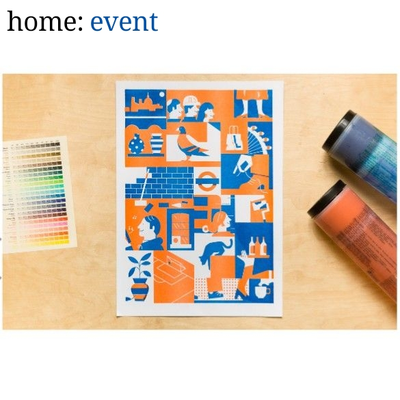 home: event [ printing workshop ]