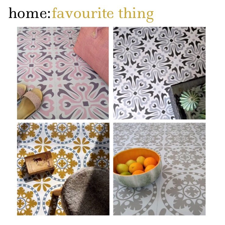 home: favourite thing [ flooring ]