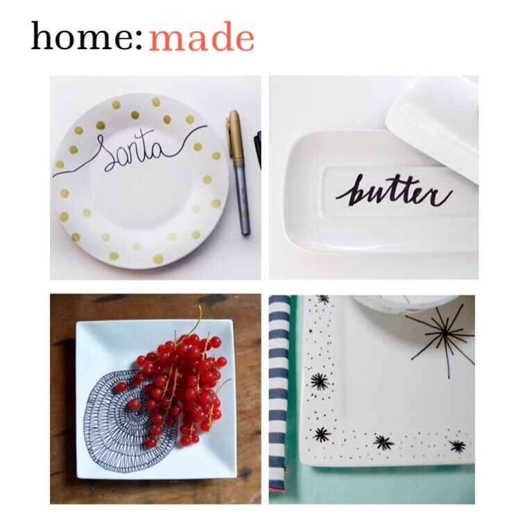 home: made [ plate design ]