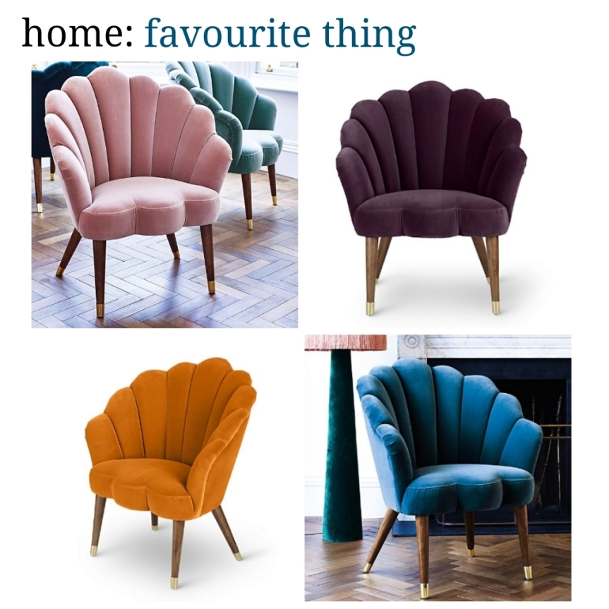 home: favourite thing [ chair ]