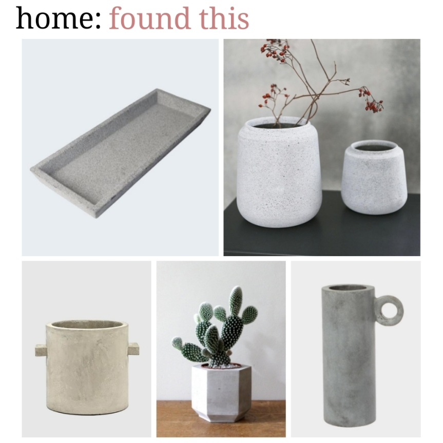 home: found this [ concrete ]