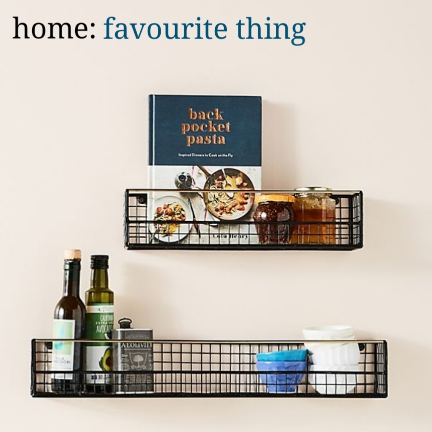 home: favourite thing [ shelves ]