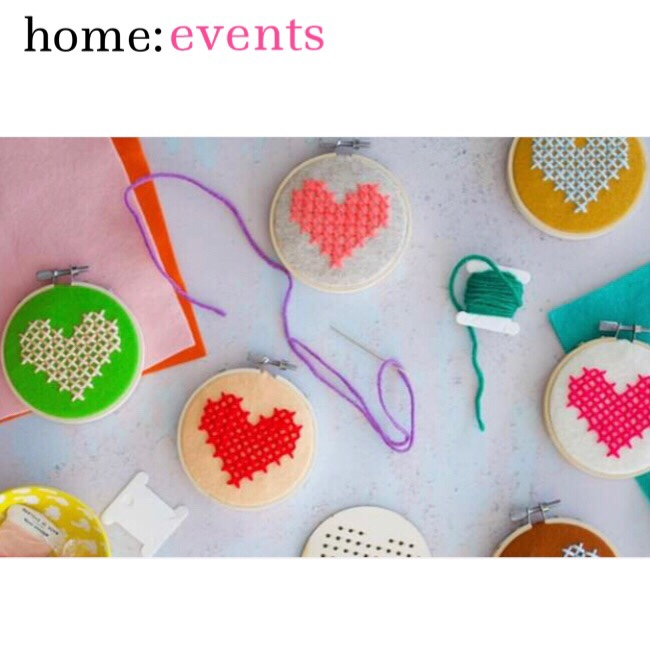 home: events [ embroidery hoop workshop ]