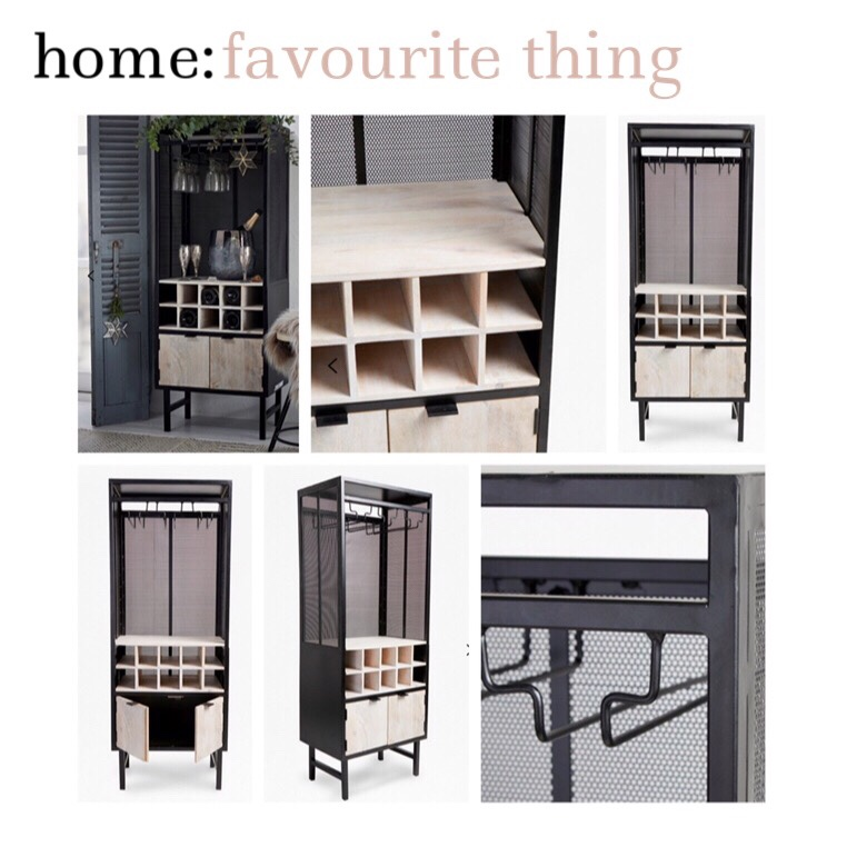 home: favourite thing [ wine cabinet ]