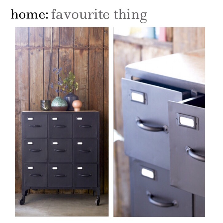 home: favourite thing [ industrial drawers ]