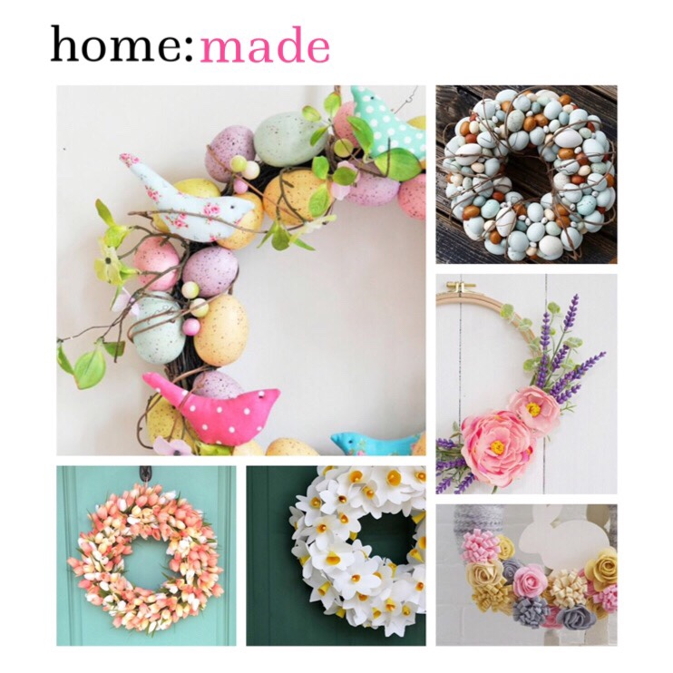 home: made [ Easter wreaths ]