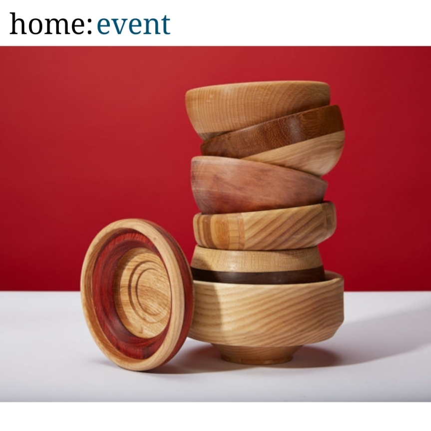 home: event [ wood turning ]