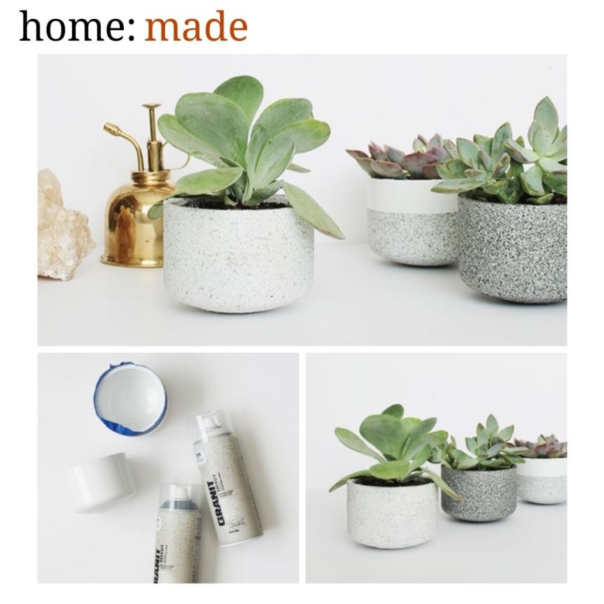 home: made [ plant pots]