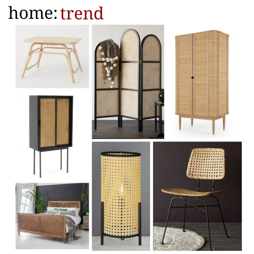 home: trend [ woven furniture ]