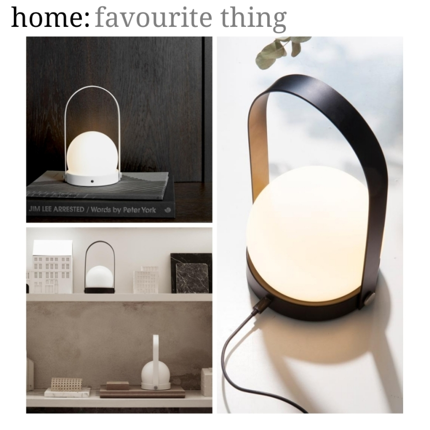 home: favourite thing [ lamp ]
