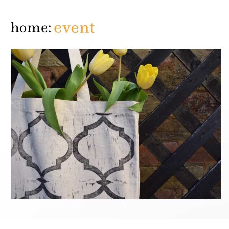 home: event [ lino printing workshop ]