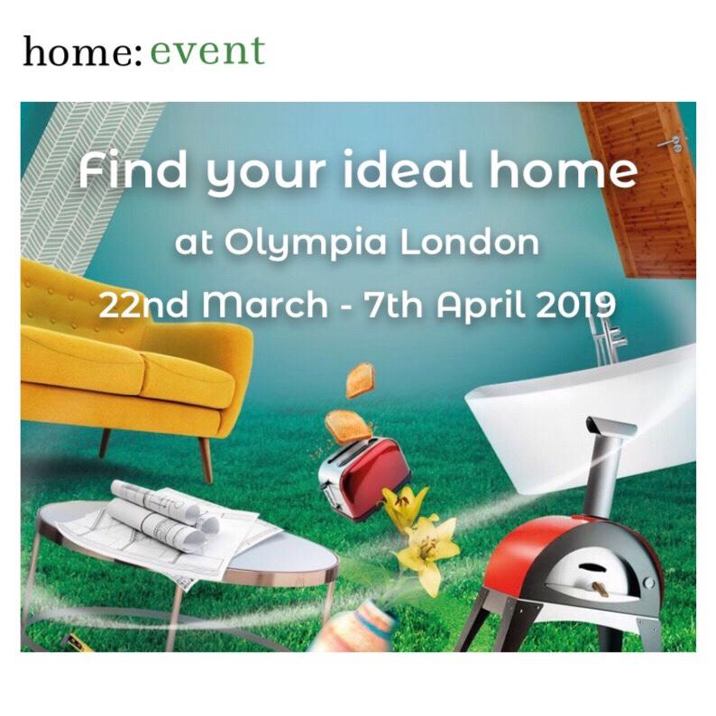 home: event [ Ideal Home Show]