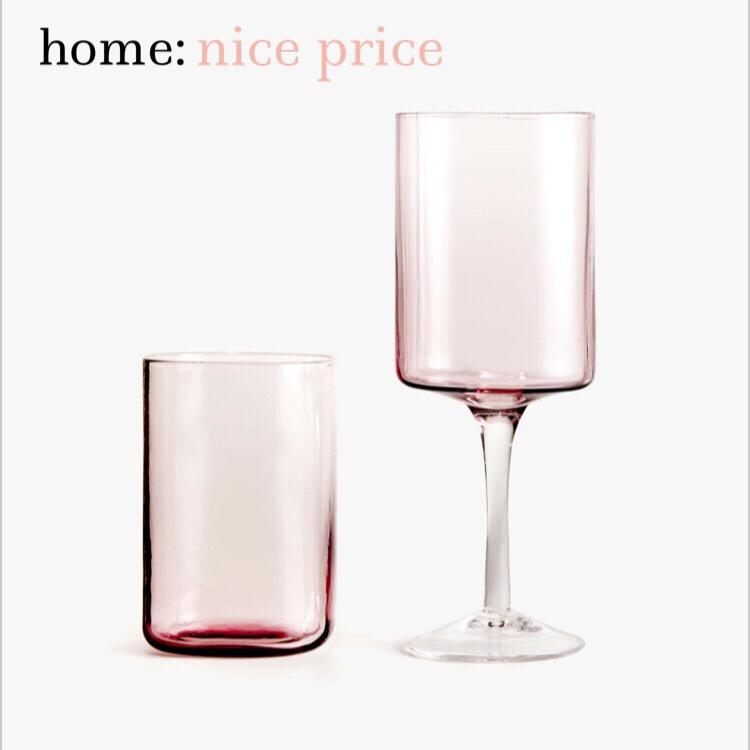 home: nice price [ glassware]