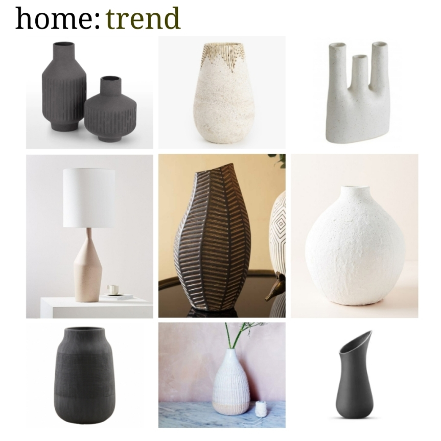 home: trend [ organic ceramics]