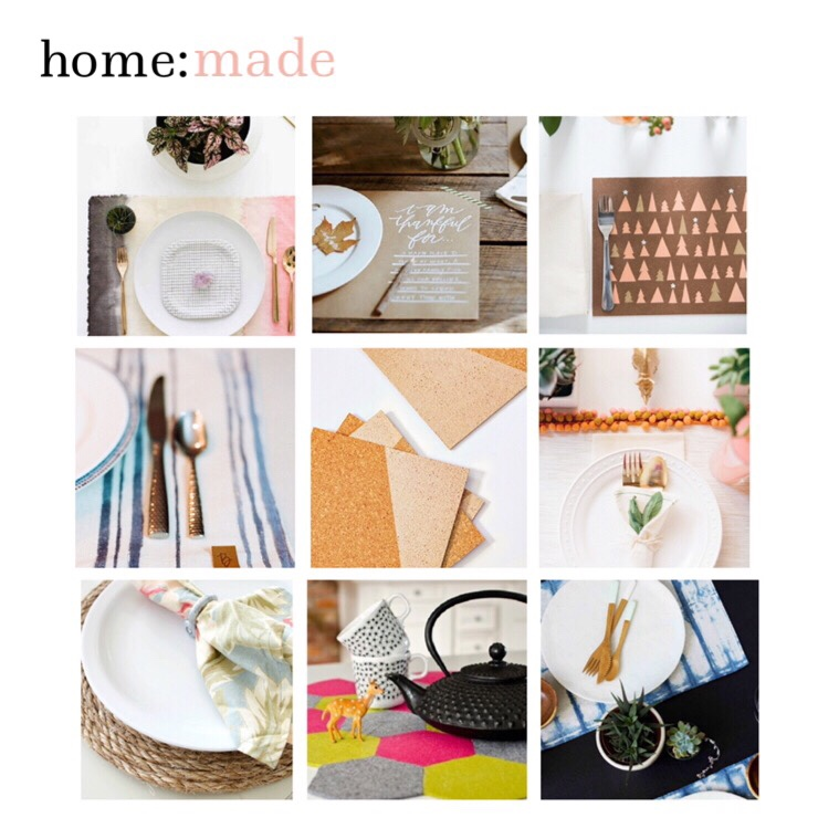 home: made [ placemats ]