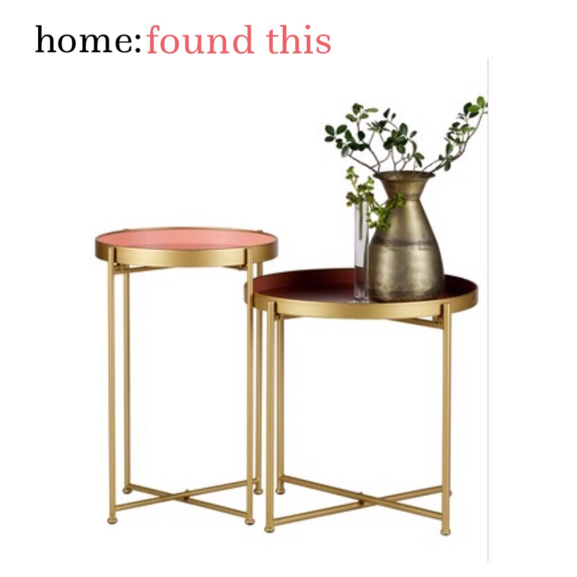 home: found this [ side tables ]