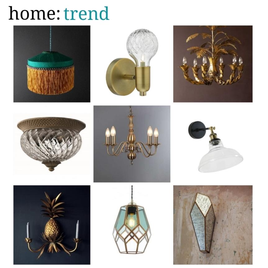 home: trend [ vintage inspired lighting]
