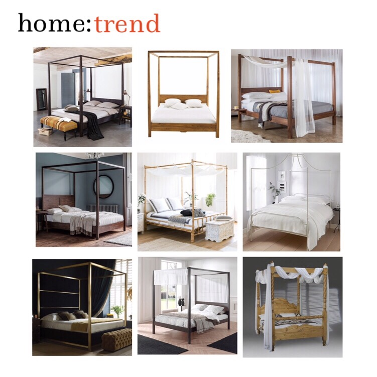 home: trend [ canopy beds]