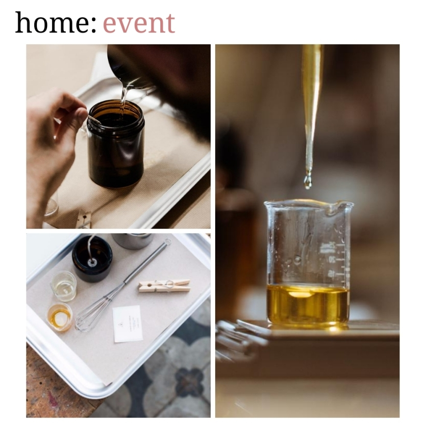 home: event [ candle making workshop ]