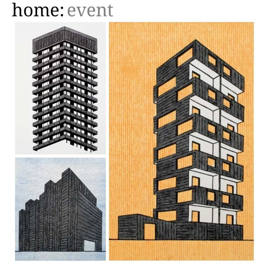 home: event [ lino printing ]
