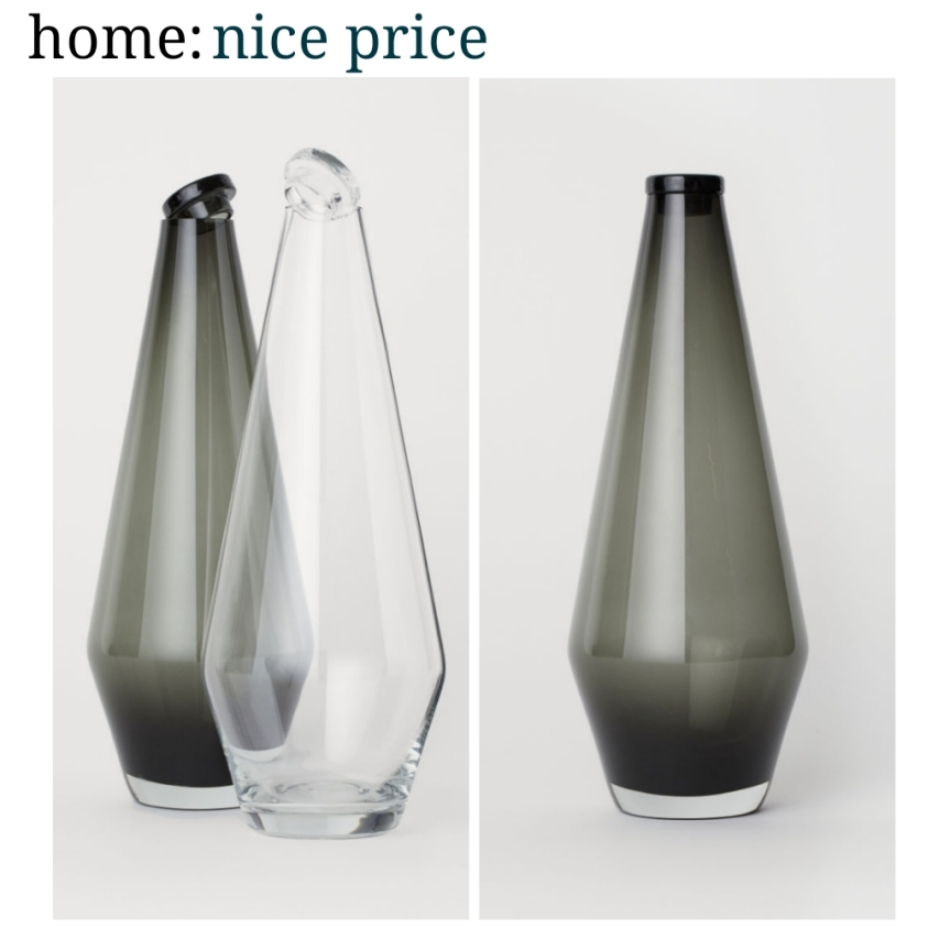 home: nice price [ glass carafe ]