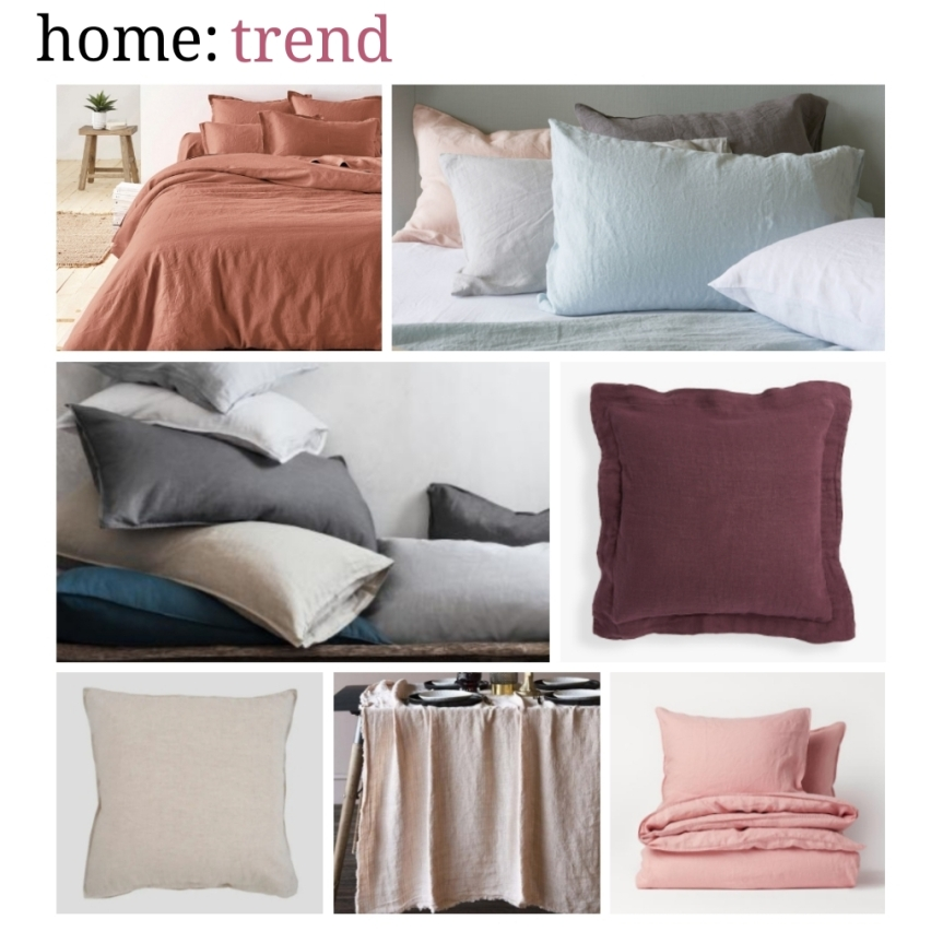 home: trend [ washed linen ]
